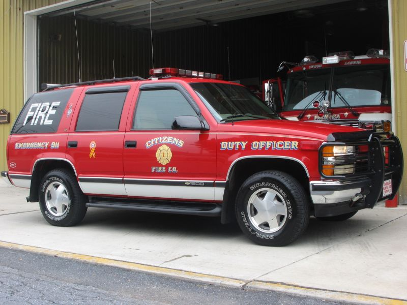 1997 Duty Officer/ Chief Vehicle